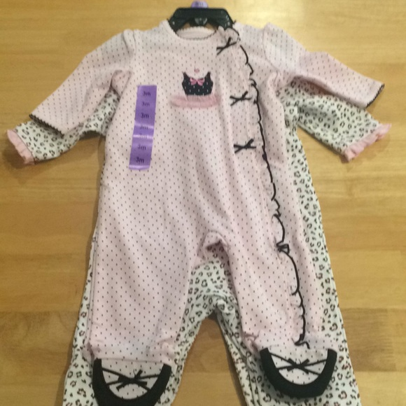 Little Me One Pieces Baby Girl Sleep And Play Outfits Poshmark